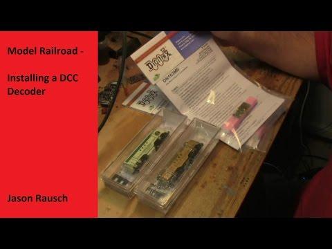Model Railroad - Installing a DCC Decoder in a MicroTrains F7 Locomotive