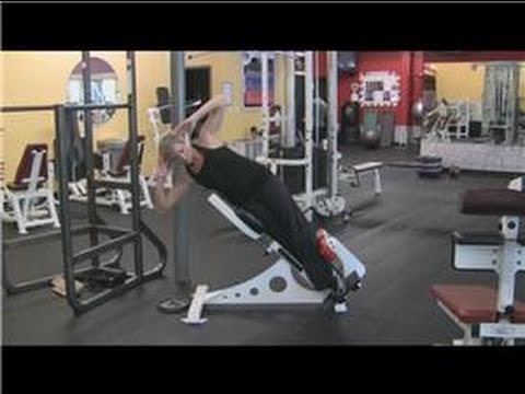 Abdominal Exercises : Roman Chair Hyper-extension Abs Exercise