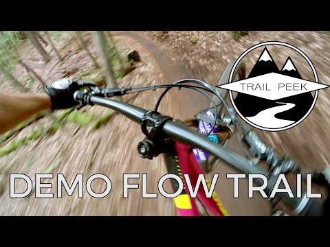 Mountain Biking the Demo Flow Trail - Santa Cruz, CA