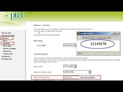 How to Find PTCL-BB WiFi password in Mac address