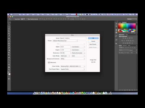 [1] Photoshop For Mobile App Design: Create a new file