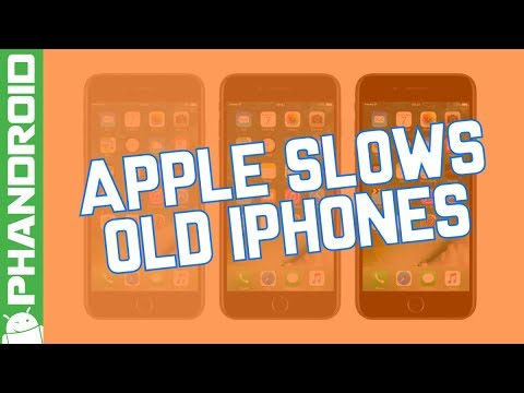 Apple admits to slowing down old iPhones
