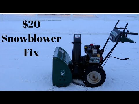 Snowblower Belt Replacement (Auger/Drive) Step by Step - Yard Machines / MTD / Craftsman