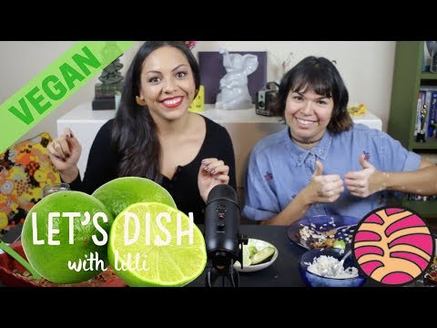 Enchiladas with Danielle | MUKBANG inspired Eating Show | Let's Dish with Lilli