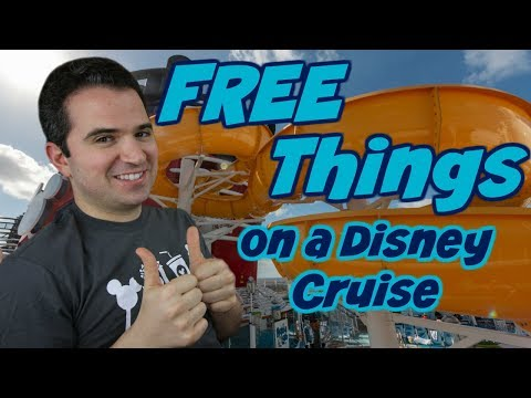 Free Things on a Disney Cruise Ship 🚢