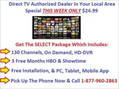 Direct TV Special Package Bundle Cheap, HBO Showtime Free Installation