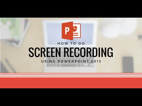 How To: Record Desktop Screen in HD Using PowerPoint (Gameplays & Screencast)