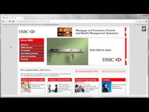 HSBC Job Application Process
