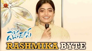 Rashmika Byte About Devdas   Devadas Movie   Nagarjuna   Nani