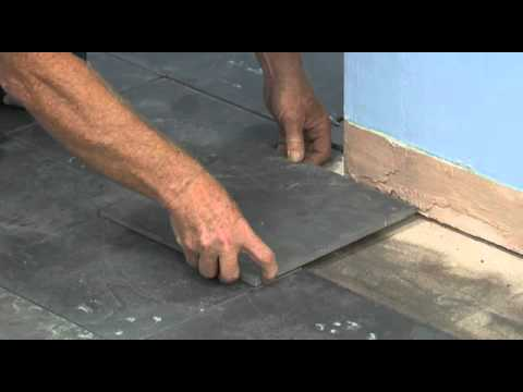 How to install tile floor Final cuts