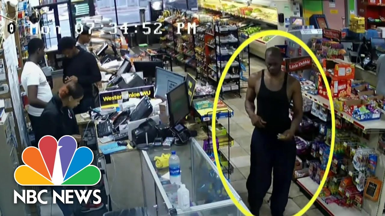 Chauvin Trial: Surveillance Video Shows Inside Convenience Store | NBC Nightly News