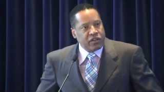 "Larry Elder: Personal responsibility over ""race war"" for minority empowerment"