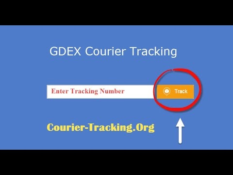 GDEX Courier Tracking Guide