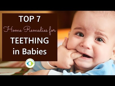 TOP 7 Home Remedies for TEETHING in Babies