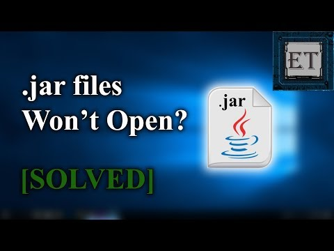 How to Run Executable Java (.jar) Files in Windows