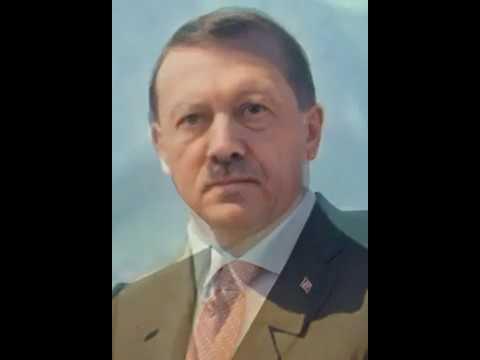 Erdogan morphing to Hitler