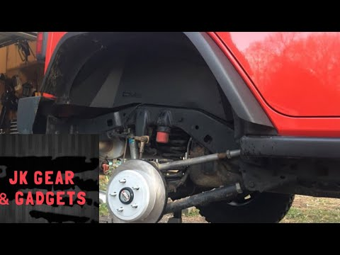 Jeep Wrangler Rear Axle Shaft Replacement