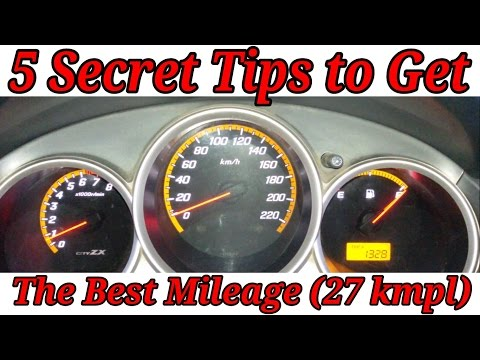 Wanna Get 27 Kmpl Mileage ! 5 Tips to Improve Your Fuel Efficiency