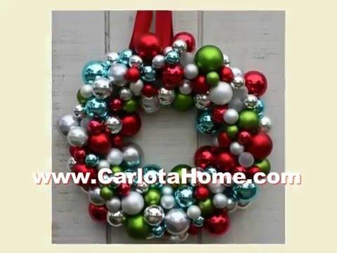 Various Ideas Christmas Wreath Craft Ideas