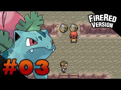 Let's Play Pokemon: FireRed - Part 3 - Mt. Moon