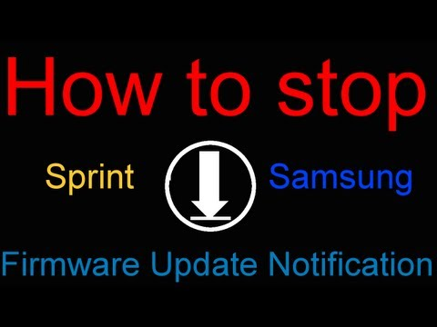 How to stop the Sprint OTA update notification on your Android device