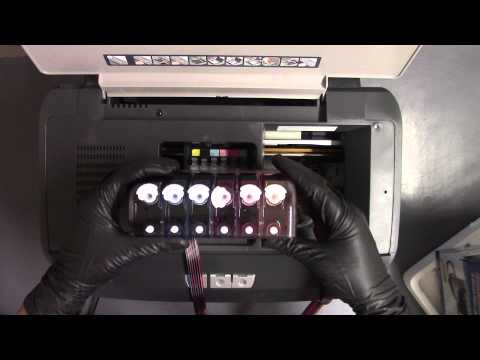 How to Install CISS on an R260 Epson Printer Continuos Ink System CIS