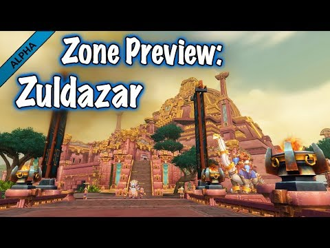 Jessiehealz - Zuldazar Zone Preview (BfA Alpha)