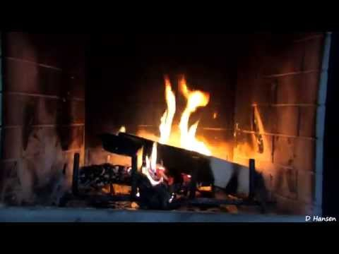 1 Hour Burning Logs in Fireplace (in HD)