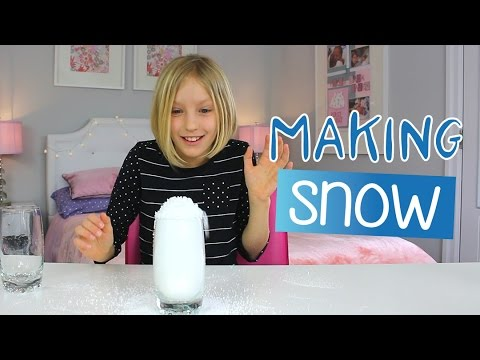 How to Make Snow in Seconds