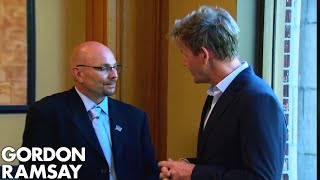 Alcoholic Manager Lies to Gordon About His Drinking | Hotel Hell