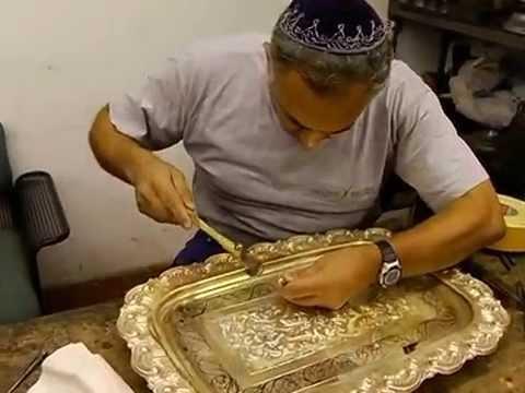 hadadbros pure silver menorah