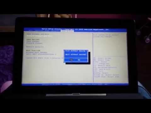 ASUS T100 - Konfiguracja BIOS UEFI