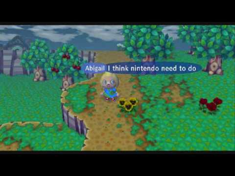 animal crossing trampled grass