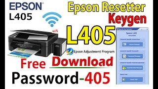 Reset Epson L405