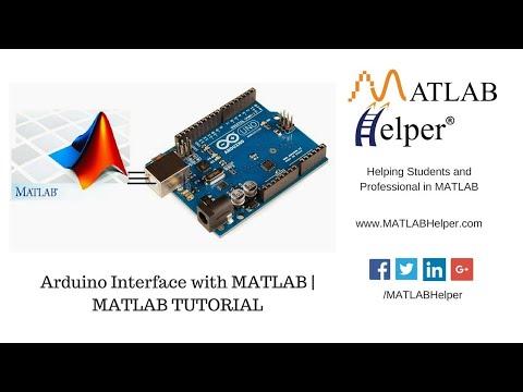 Interface Arduino with MATLAB | MATLAB Helper®