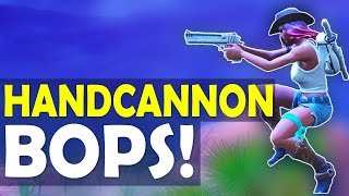 HANDCANNON BOPS! SLAYING OUT WITH DEAGLE | AUTO SHOTTY COMBO - (Fortnite Battle Royale)
