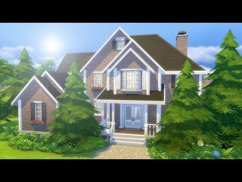 BASE GAME MANSION // The Sims 4: Speed Build