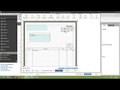 How To Customize Invoices In QuickBooks!