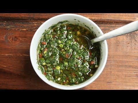 Sauce chimichurri - Recette