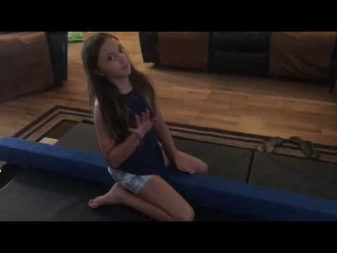 Unboxing a gymnastics beam and gymnastics mat for Tay!!