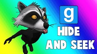 Gmod Hide and Seek - Racoon Bird! (Garry