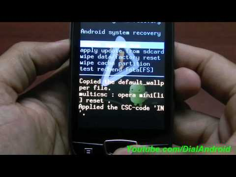 Install ClockworkMod Recovery(CWM5) on Galaxy Mini/POP GSM S5570