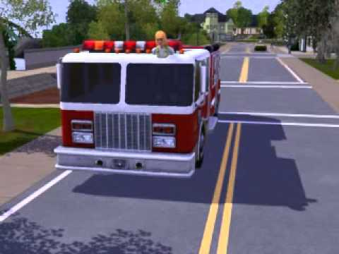 Sims 3 Firefighter Glitch