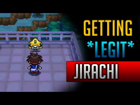 How & Where to catch/get - *LEGIT* Jirachi in Pokemon Black 2 & Pokemon White 2