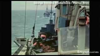 World War 2 as you have never seen it: rare colour footage of D-Day landings