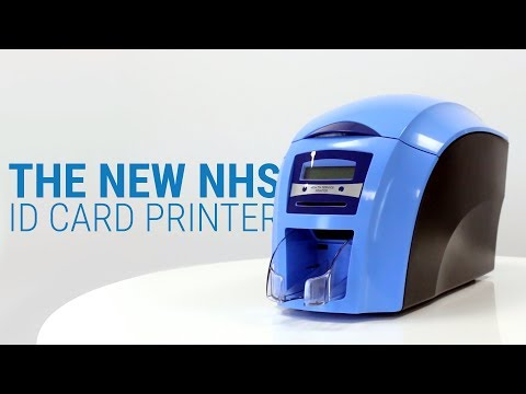 The New Way of Printing ID Cards for the NHS