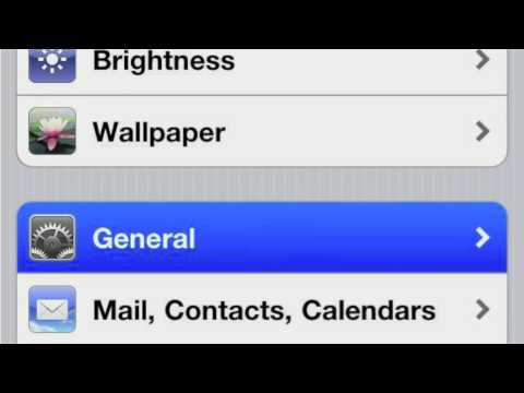 How to Add iPhone 4S International Keyboards