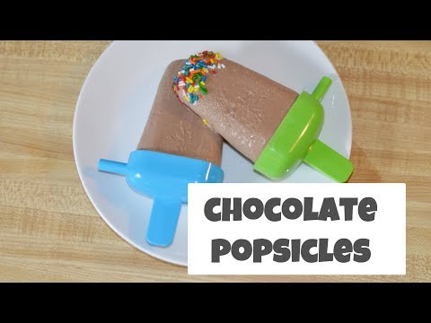 How To Make Chocolate Popsicles