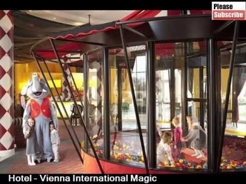 Best Paris Hotels | Vienna International Magic Circus Hotel At Disneyland Paris -Picture Collection