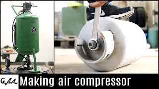 Making air compressor